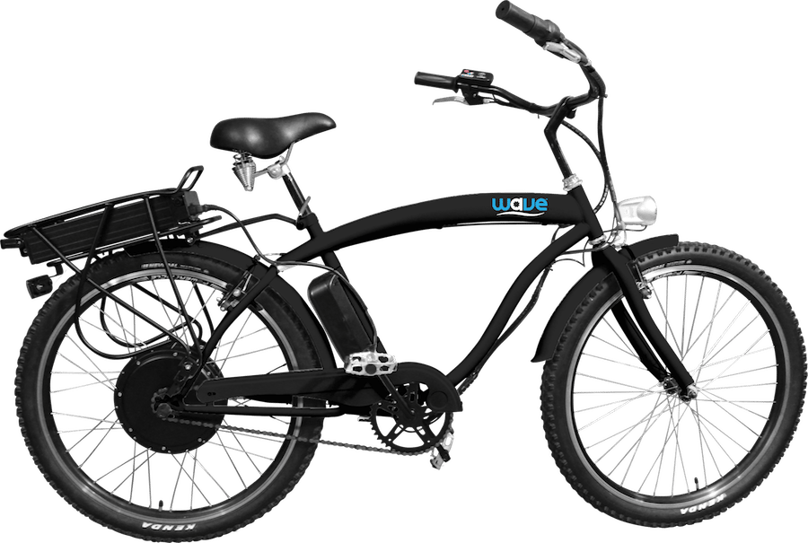 The Wave eBike comes in a choice of colors