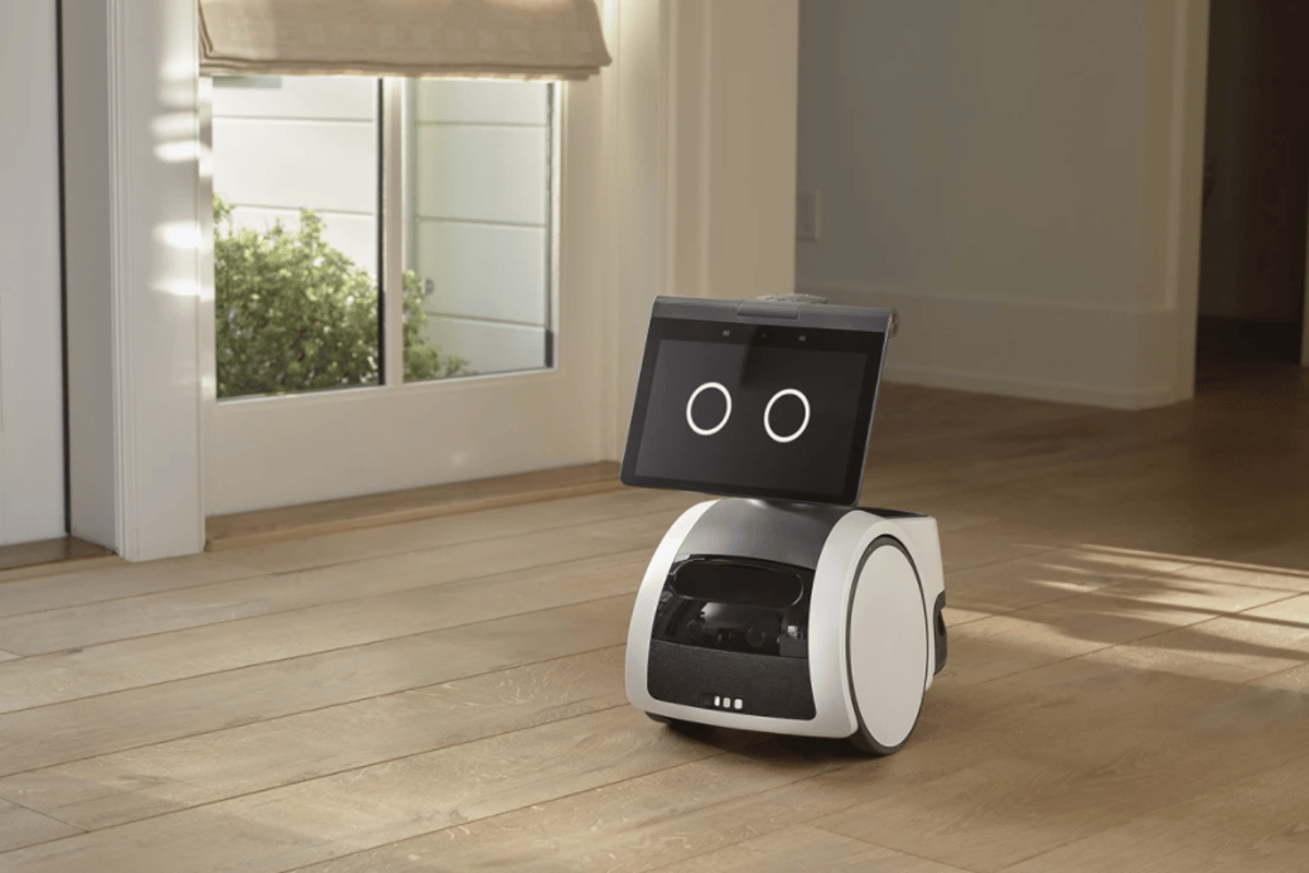 Amazon's new Astro robot is part voice assistant, part butler, and part home security system