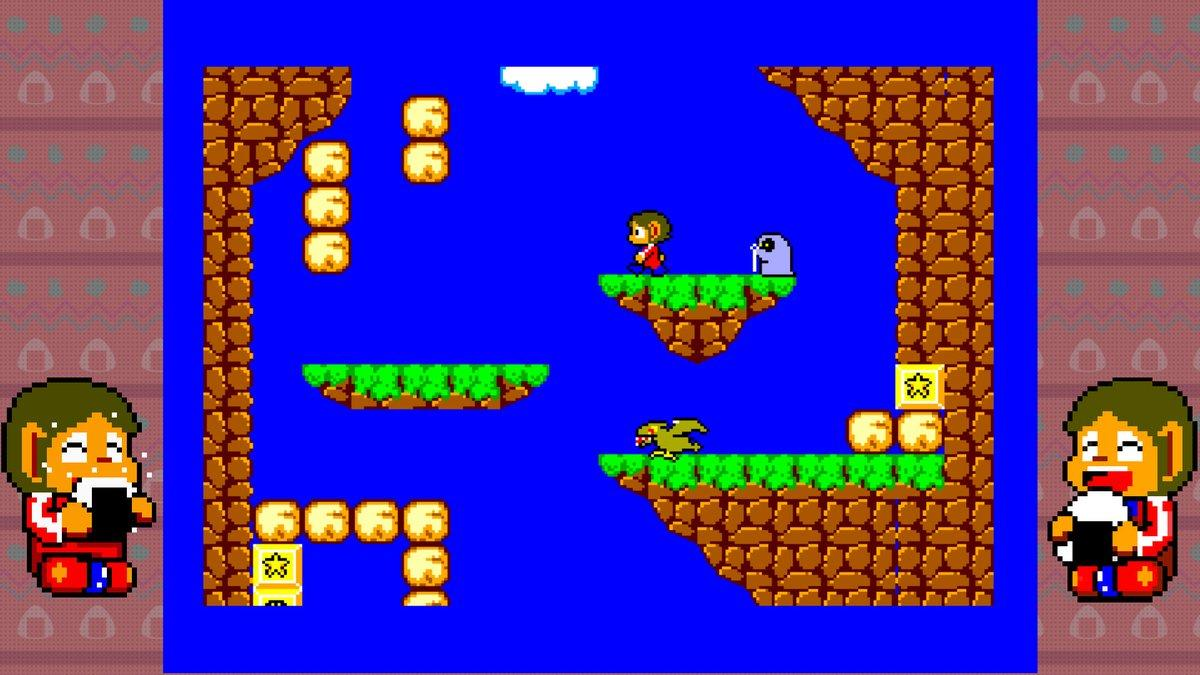 Alex Kidd in Miracle World is coming to Nintendo Switch