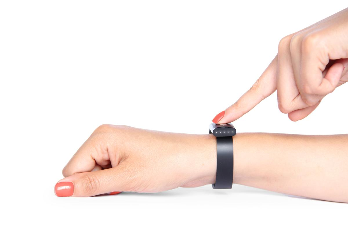 The Nymi bracelet uses the wearers EKG for identification