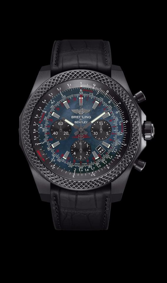 The Breitling Bentley B06 Midnight Carbon