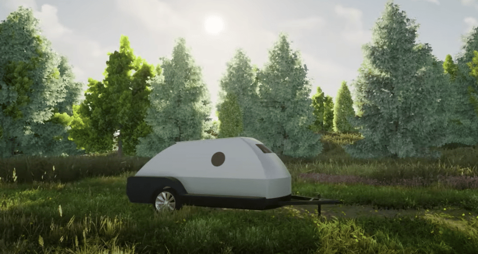 Colorado Teardrops shows a first look at its battery-injected camping trailer