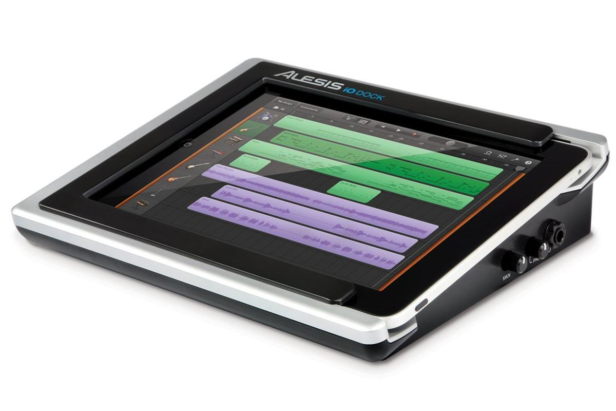 Alesis has released what is described as the missing link between the iPad, its associated App Store's catalog of audio and video apps, and the entire world of professional audio equipment