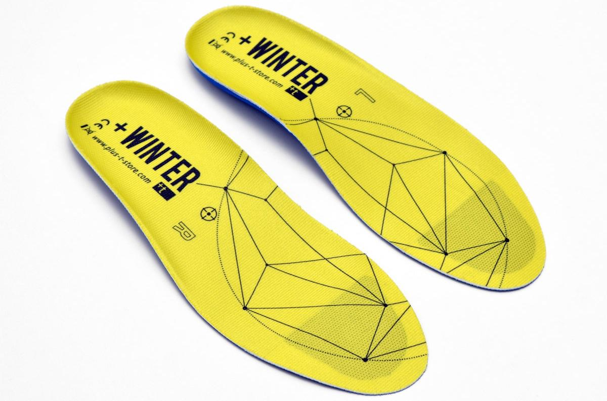 Just 2 mm thick at the front and 6 at the heel, +Winter insoles are claimed to be the thinnest heated insoles on the market