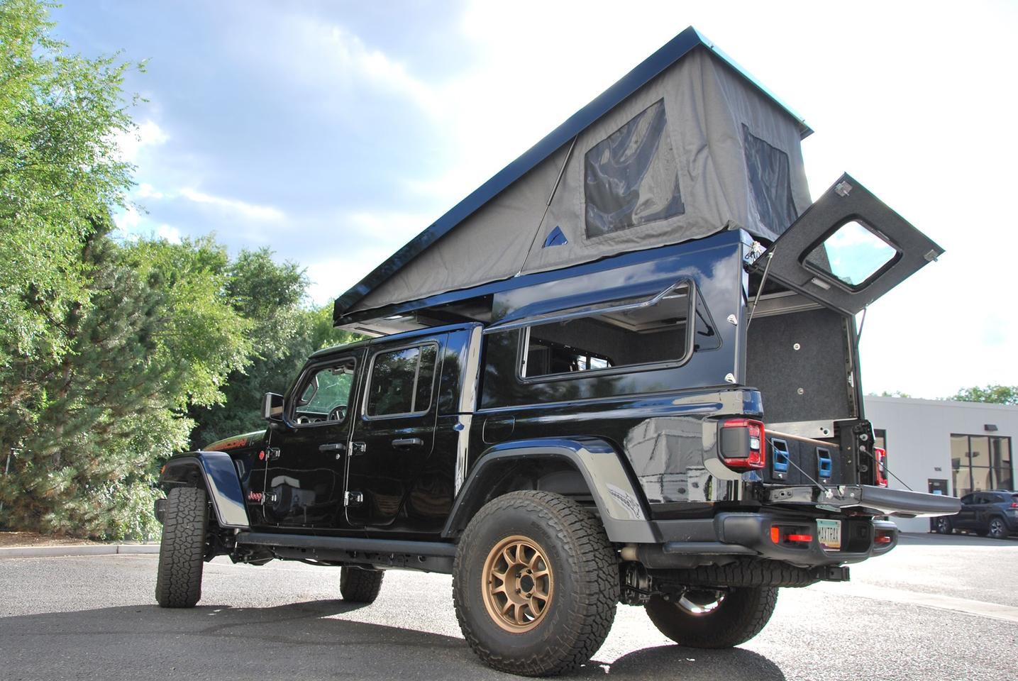 AT Overland now offers the Summit topper for the Jeep Gladiator
