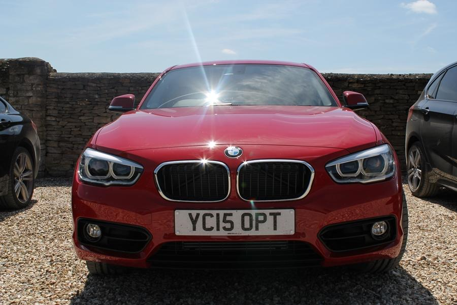 The BMW 1 Series has had a facelift