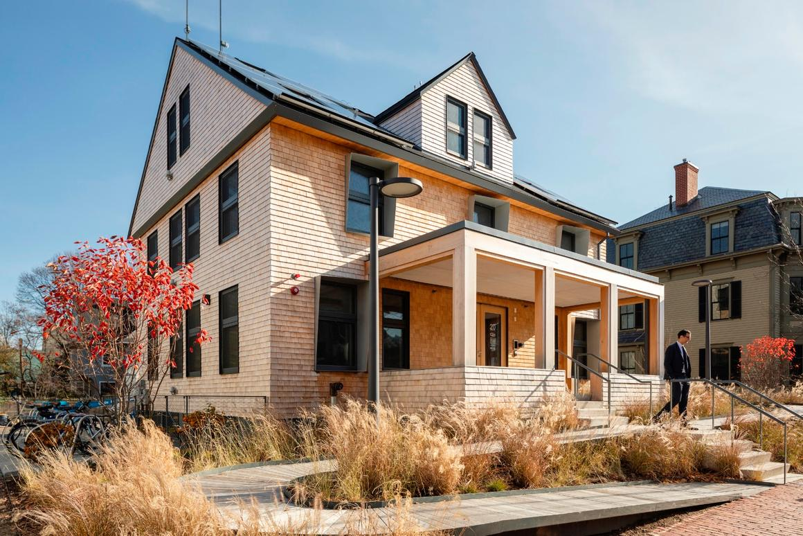 HouseZero is an energy-efficient renovation of Harvard's Green Buildings and Cities headquarters