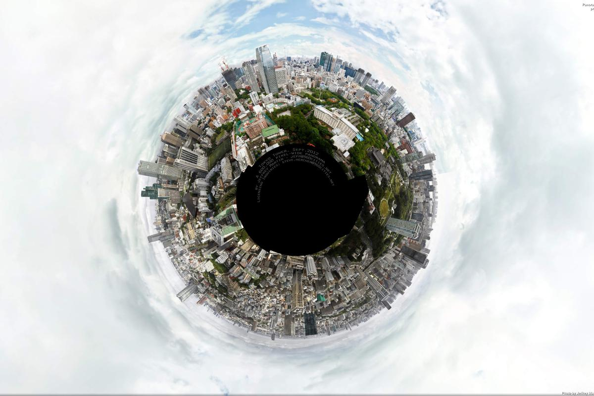 Photographer Jeffrey Martin of 360Cities recently unveiled a 360-degree panorama of Tokyo measuring 180 gigapixels, making it the second largest photo in the world