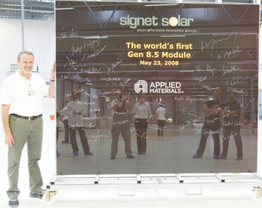 ndustry's First Gen 8.5 Silicon Thin Film Photovoltaic Module