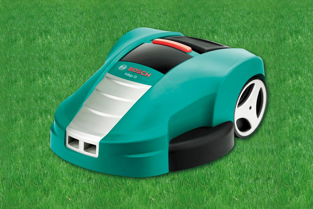 Bosch has introduced its new robotic lawnmower, the Indego