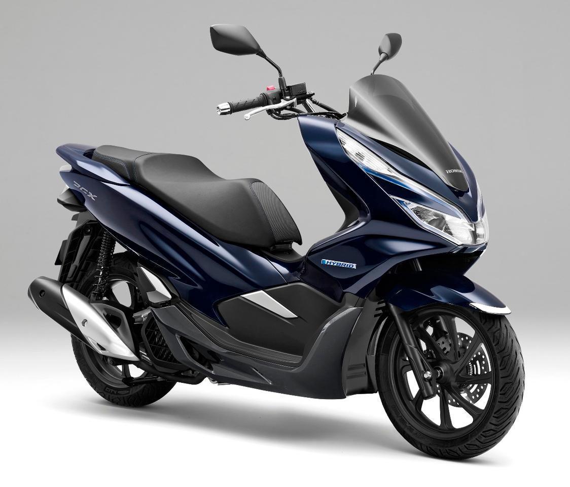 The new Honda PCX Hybrid