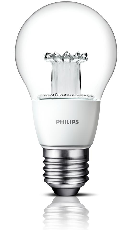 Philips' new clear LED bulb is designed to deliver an incandescent-like look and feel