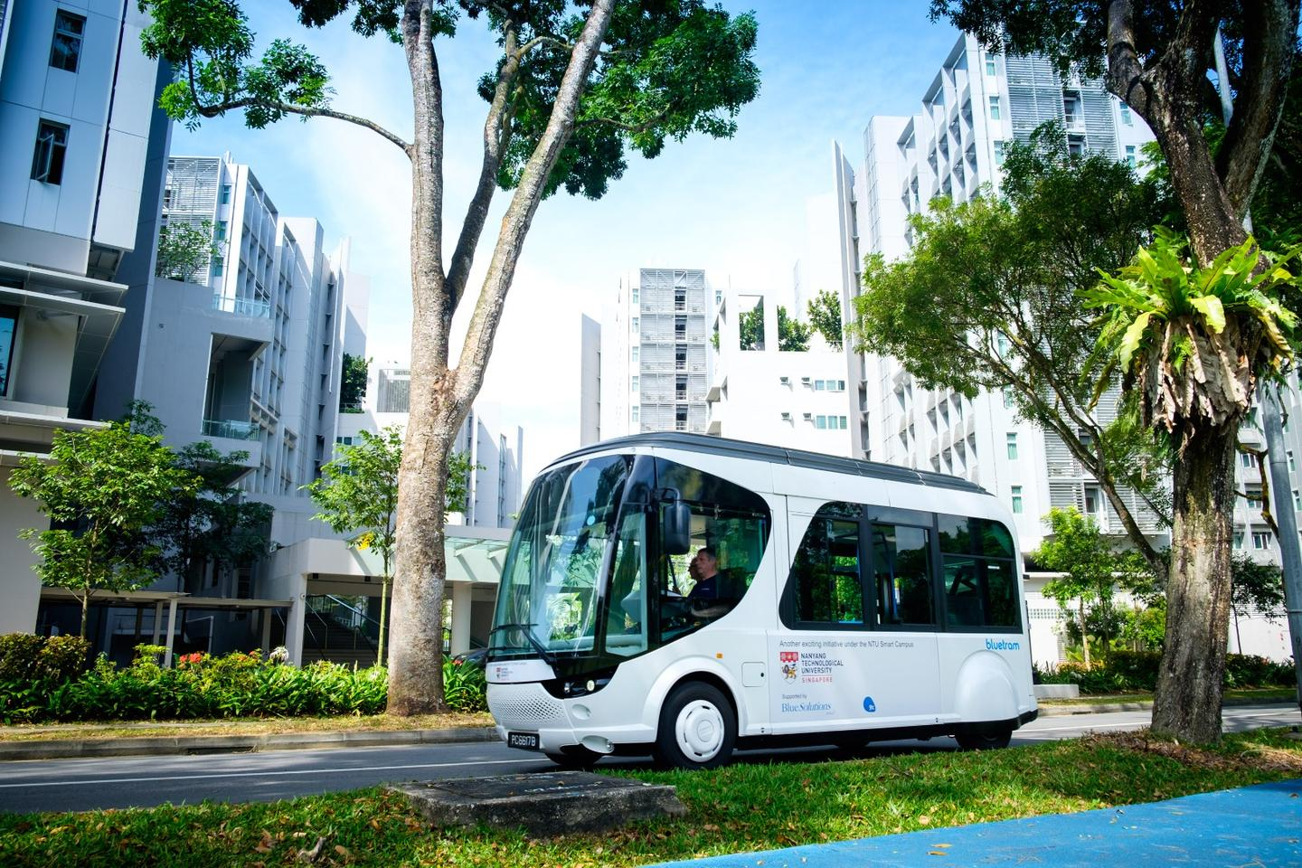 The shuttle will be used on the NTUcampus for two years
