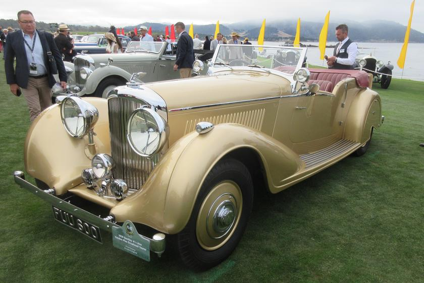 1939 Bentley Vanden Plas