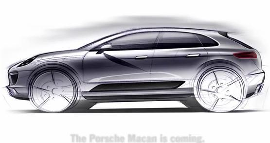 The Macan will add a smaller SUV and fifth model to Porsche's lineup