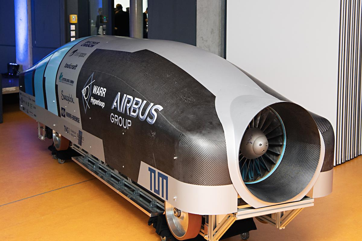 The results are in for SpaceX's Hyperloop Pod Competition, which took place this past weekend - TU Delft took out the top spot, followed by the WARR Hyperloop design (pictured) and then MIT