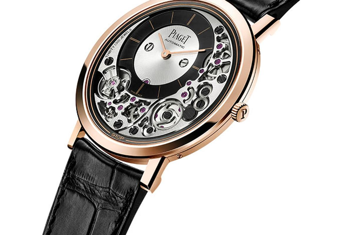 The Piaget Altiplano Ultimate 910 is the world's thinnest automatic watch