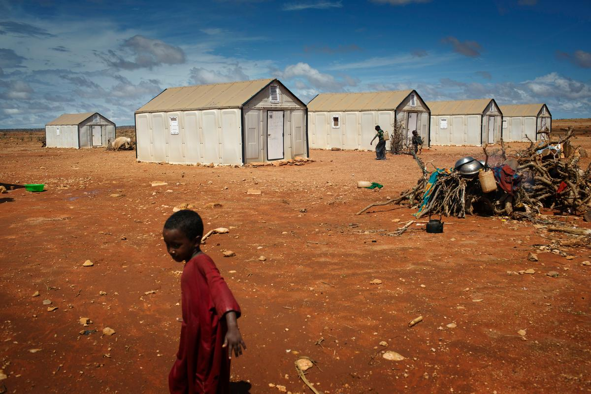 The UNHCR will begin shipping the shelters to families living in refugee camps around the world in mid-2015 (Photo: Ikea Foundation)