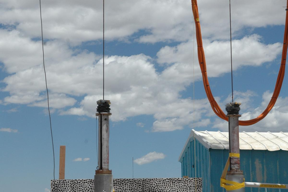 The W88 ALT 370 warhead was dropped from a crane to simulate a loading accident