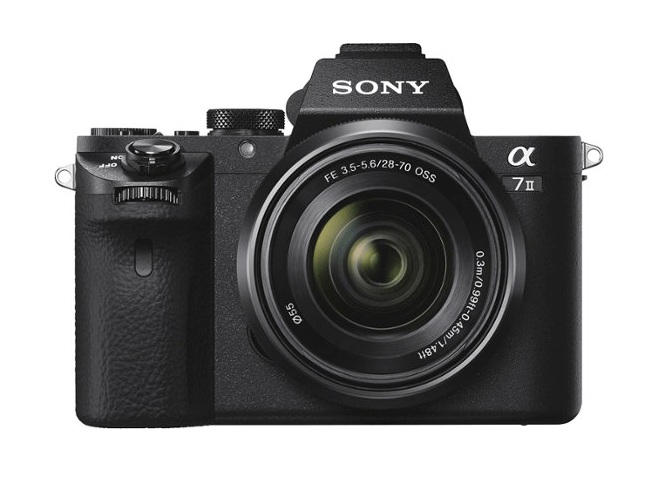 Sony Alpha a7 II full-frame mirrorless camera