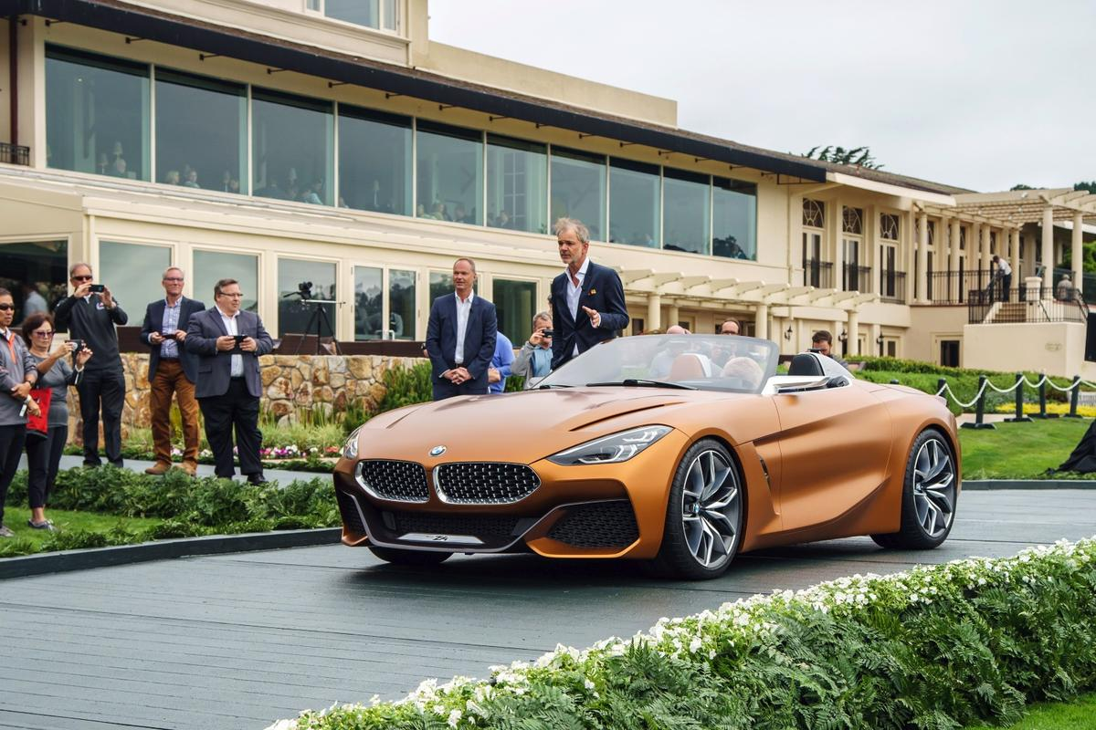 BMW reveals the Concept Z4 during Monterey Car Week