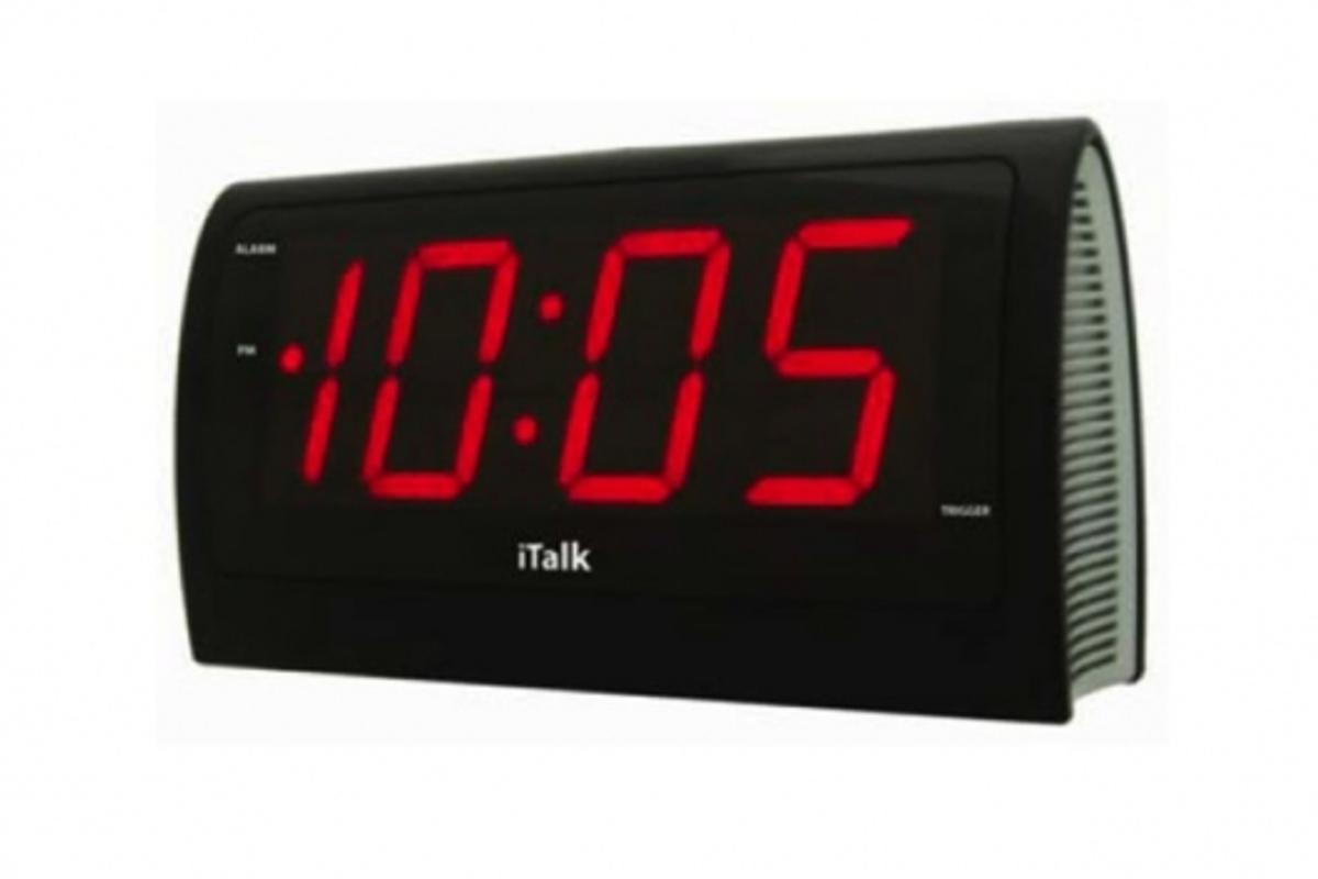 The iTalkÔ voice controlled clock from Neutrano