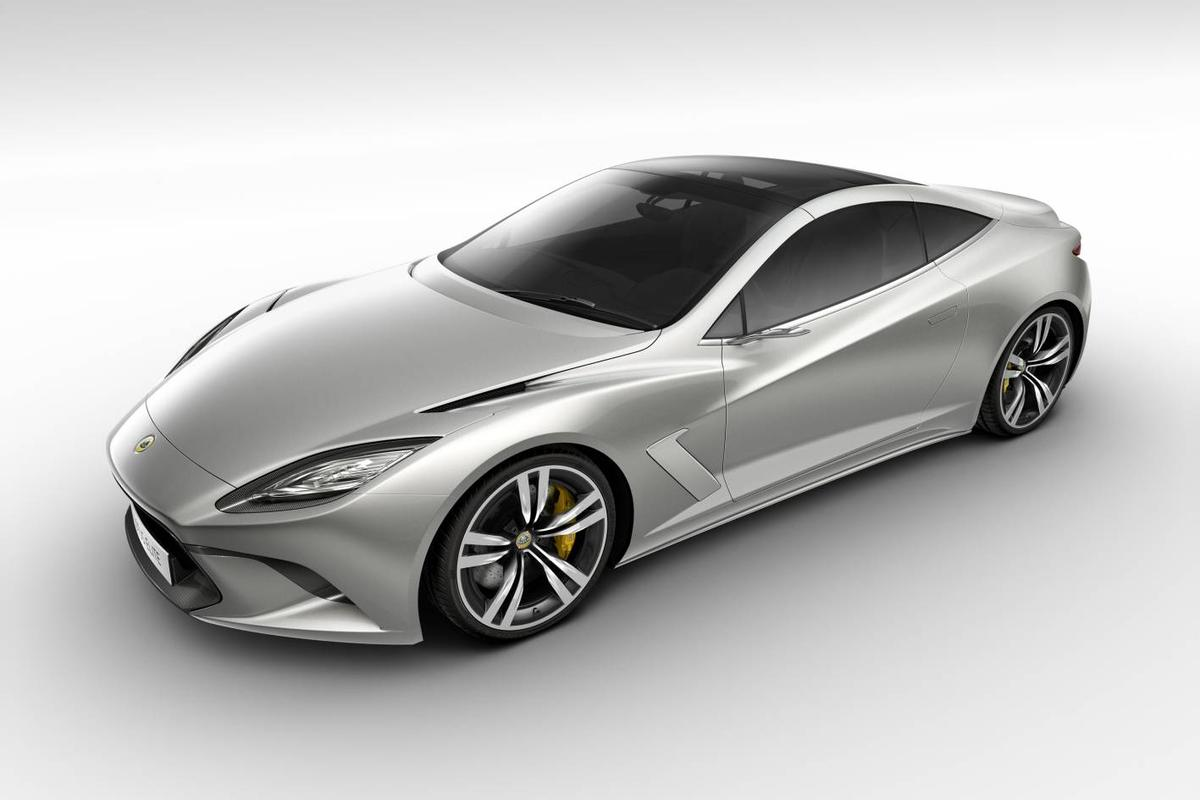 Lotus Elite will make its public debut at the 2010 Paris Motor Show
