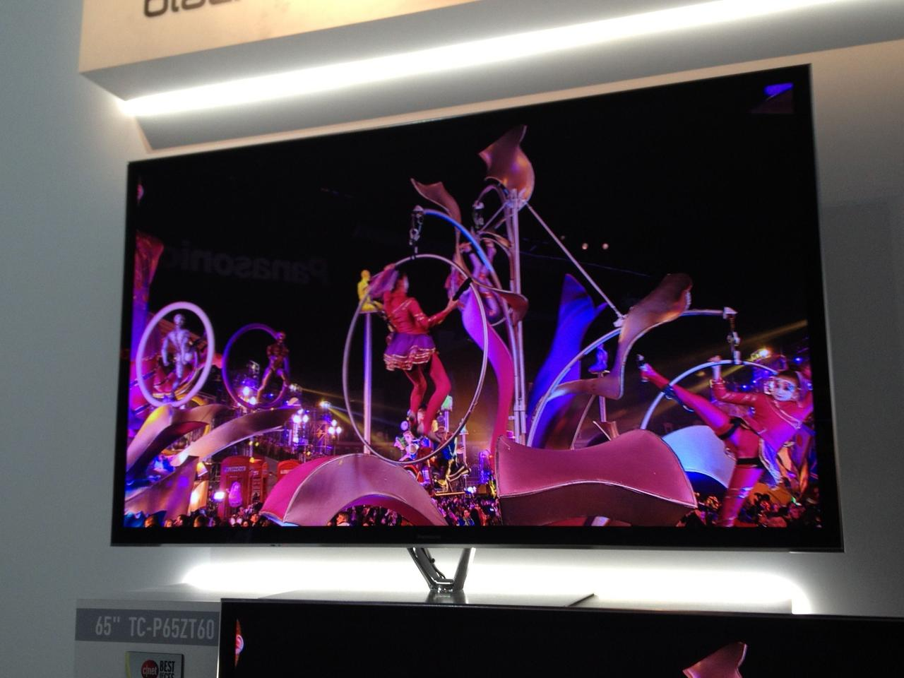Panasonic's 2013 Smart TV lineup, including the flagship ZT60 series, will have speech recognition powered by Dragon TV