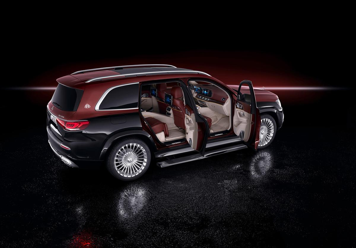 Huge SUVs are the new limousines, and the Mercedes-Maybach GLS is ready to take on the Cullinan and Bentayaga