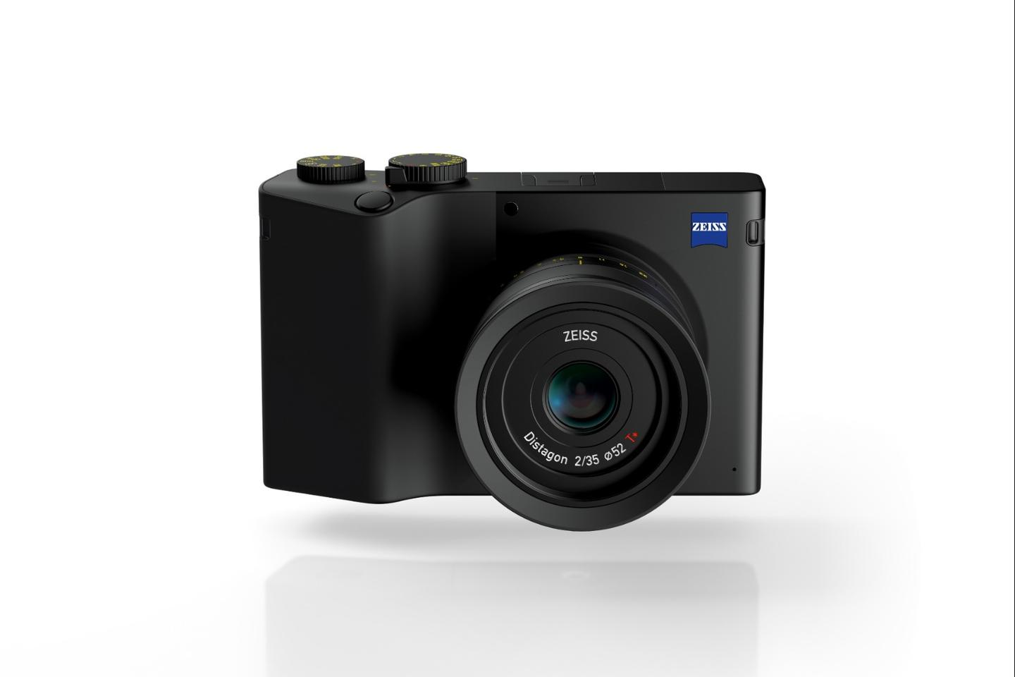 The Zeiss ZX1 features a brand new Distagon 35 mm F2 T lens and the company's own 37.4 MP full-frame image sensor