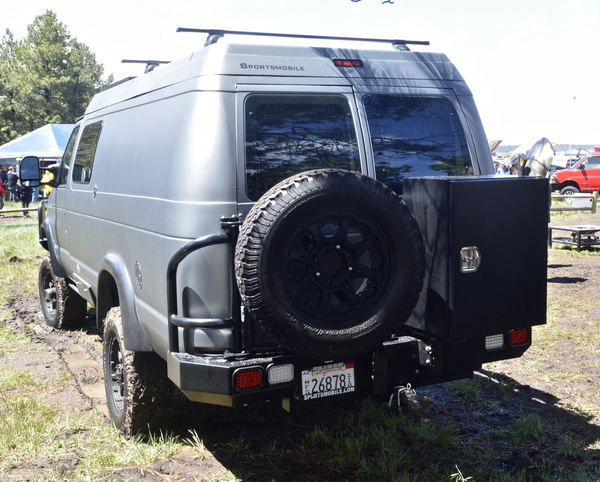 The new Sportsmobile Classic at Overland Expo 2015