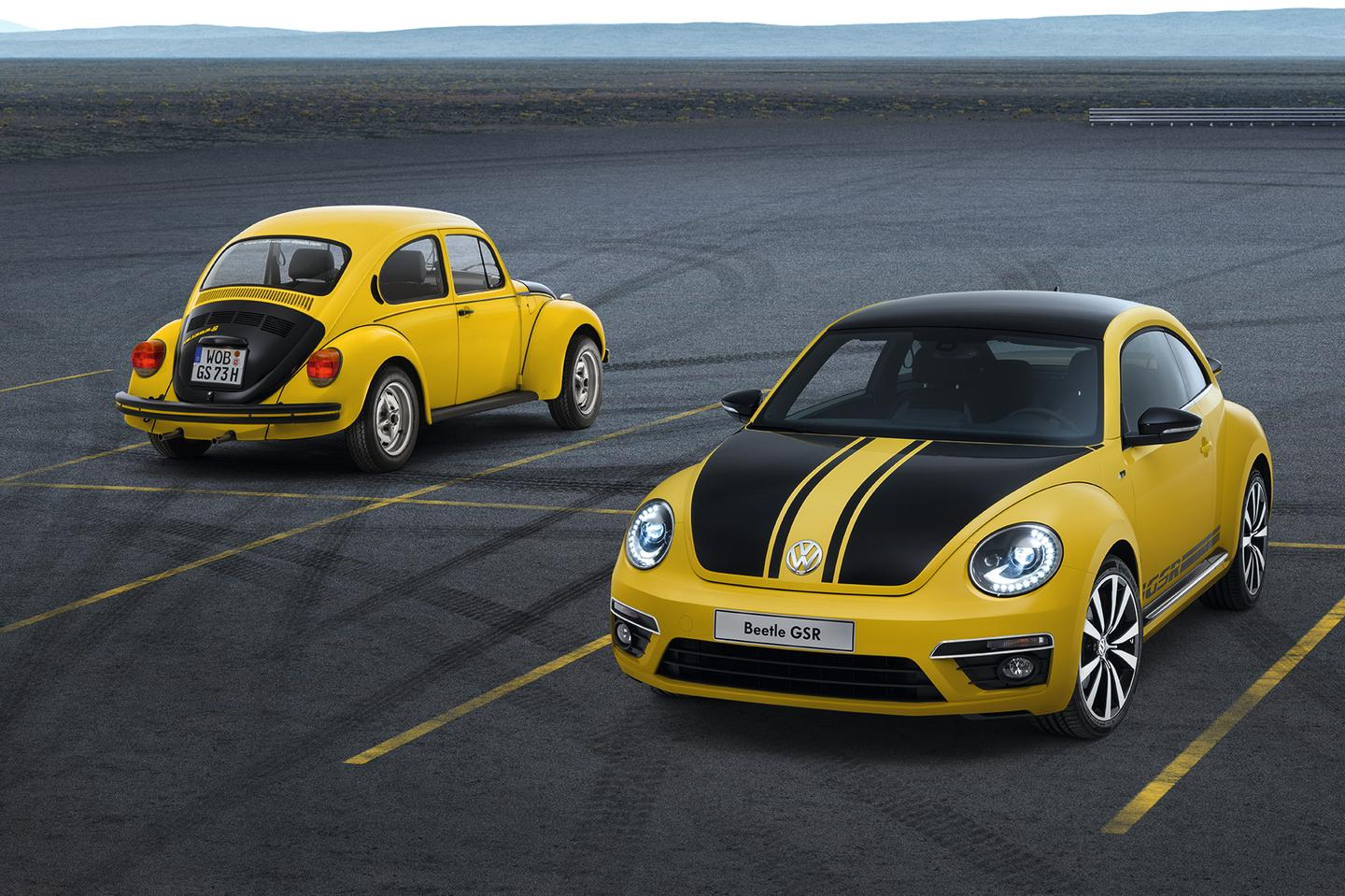 Volkswagen's new Beetle GSR - only 3,500 will be made worldwide