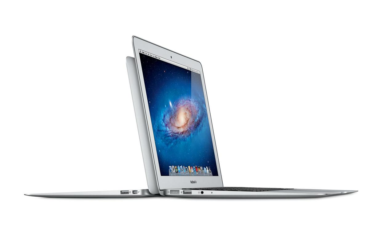 Updated MacBook Air gets Thunderbolt