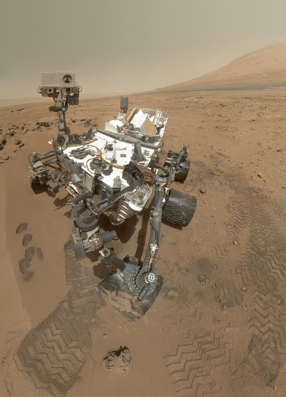 Self-portrait of the Curiosity rover (Image: NASA/JPL-Caltech/MSSS)
