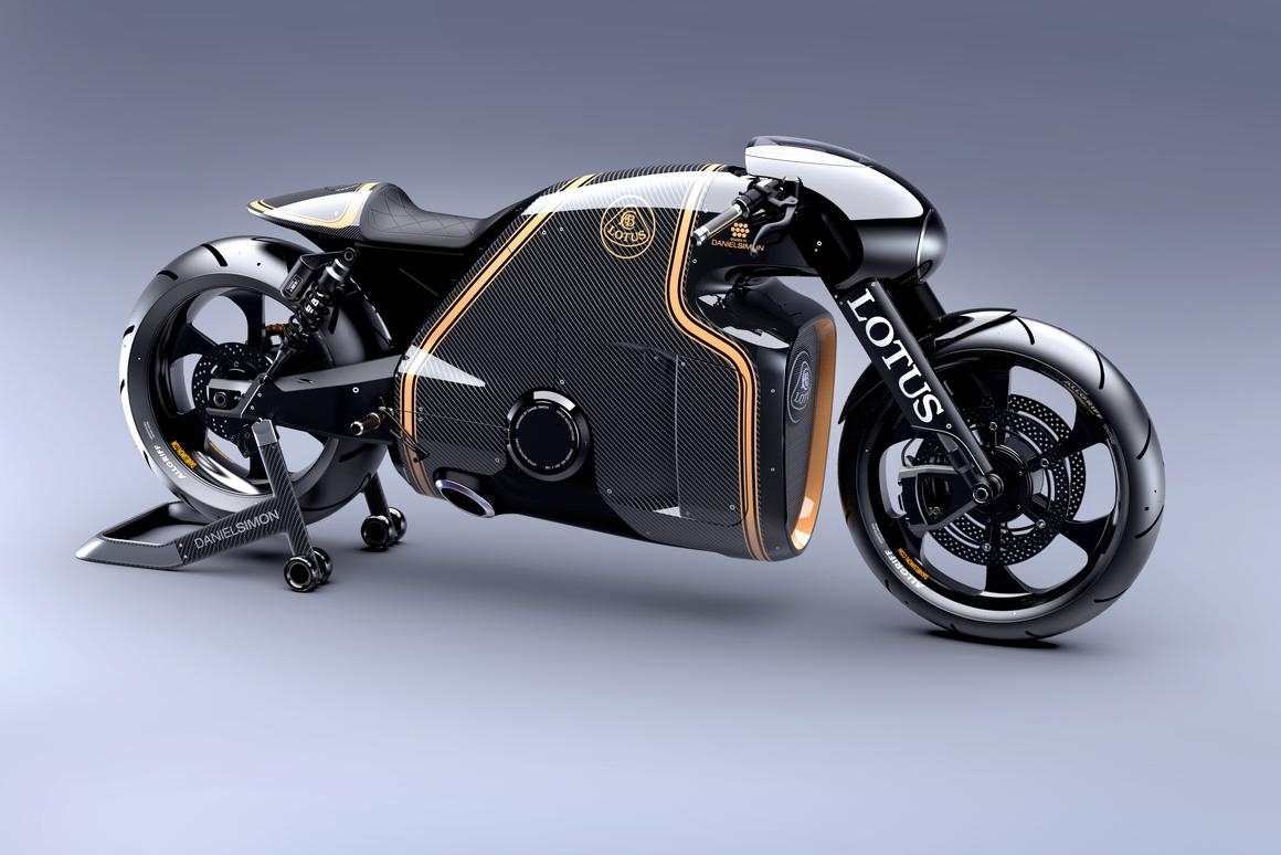 Wearing one of the most revered names in motorsport, the Lotus C-01 certainly looks the part, with styling and paintwork that immediately identify the heritage of the brand, translating it successfully from four-wheels to two-wheels.coming years.