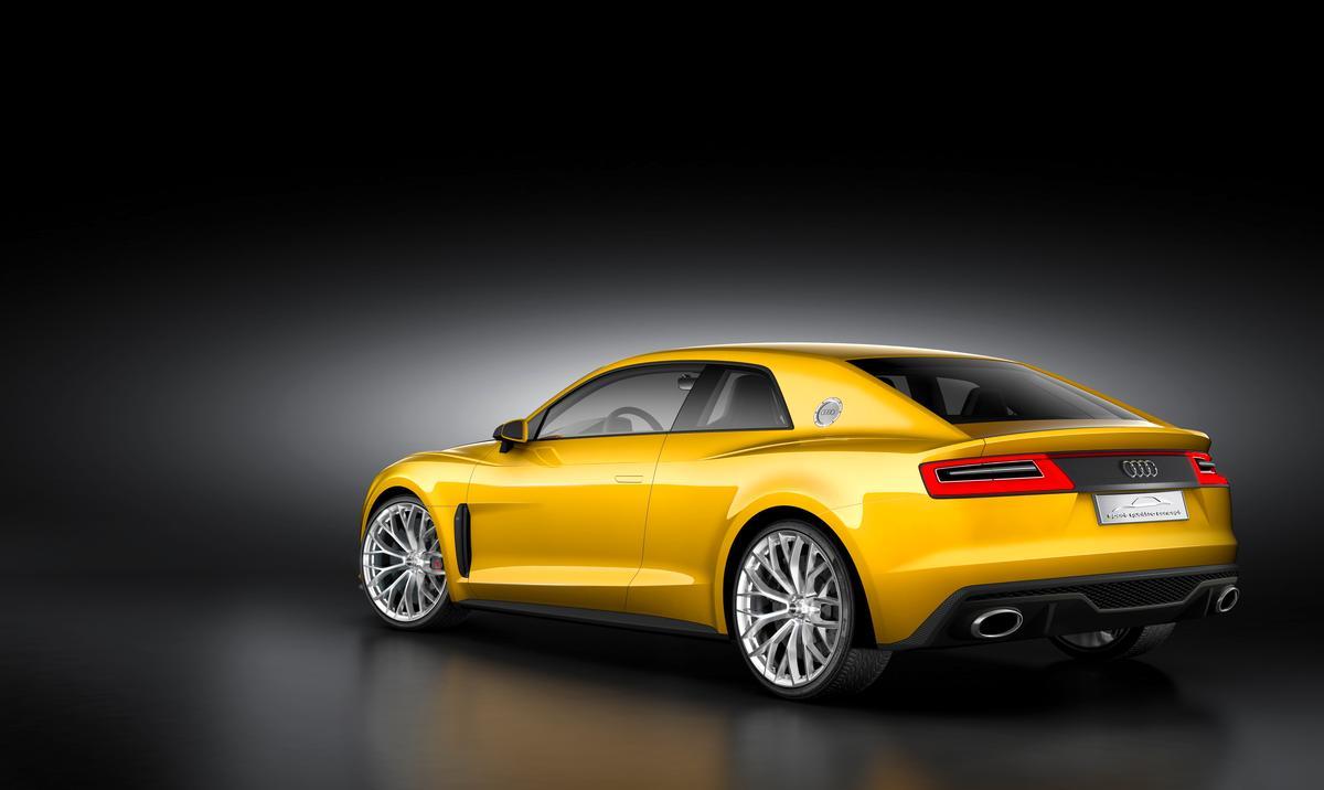 The Audi Sport Quattro Concept celebrates 30 years of the Sport Quattro