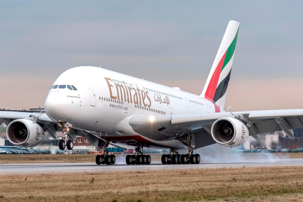 The Emirates Airline order saves the A380 from ceasing production