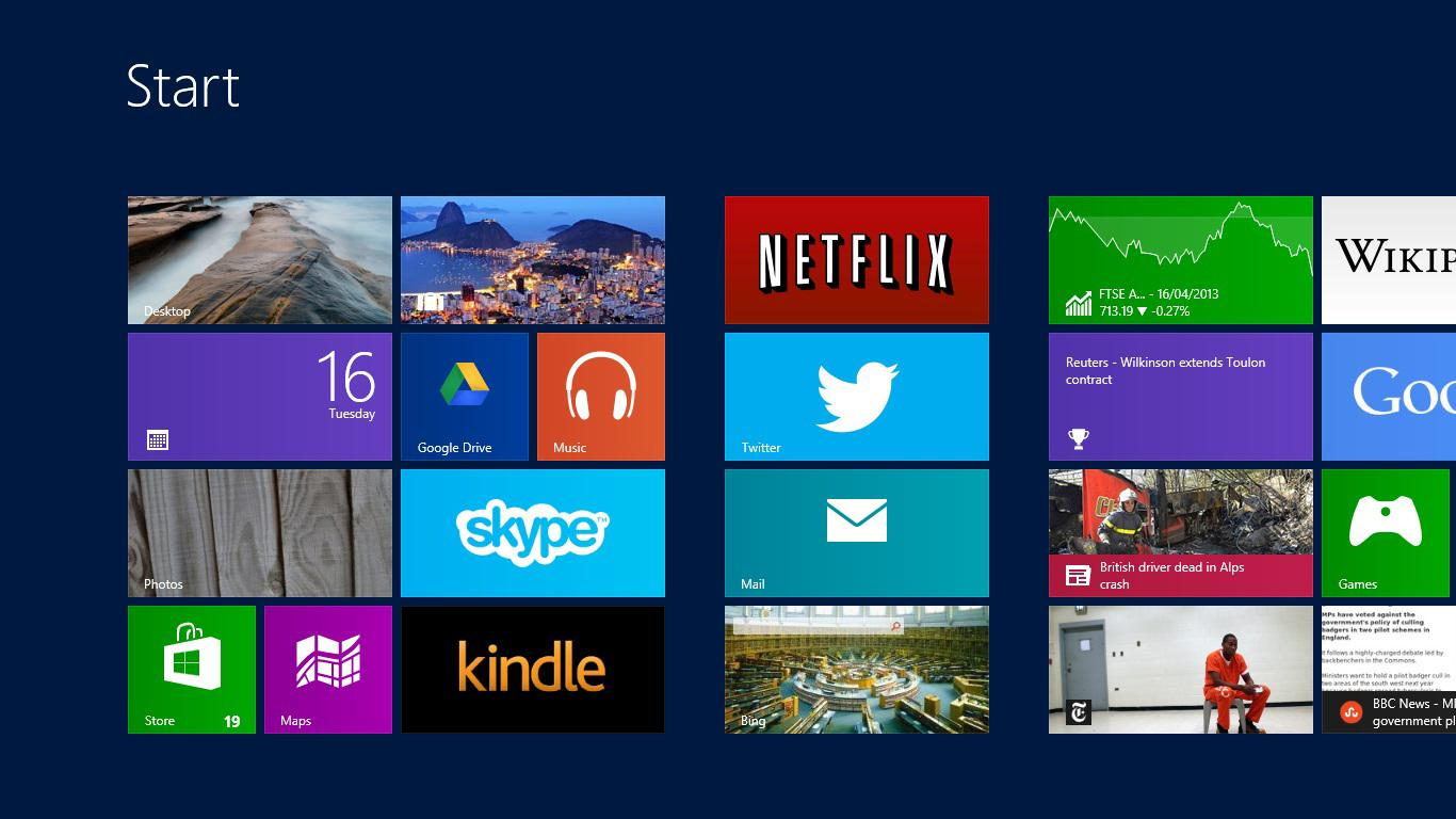 The Windows 8.1 update may allow users to bypass the controversial Start Screen UI