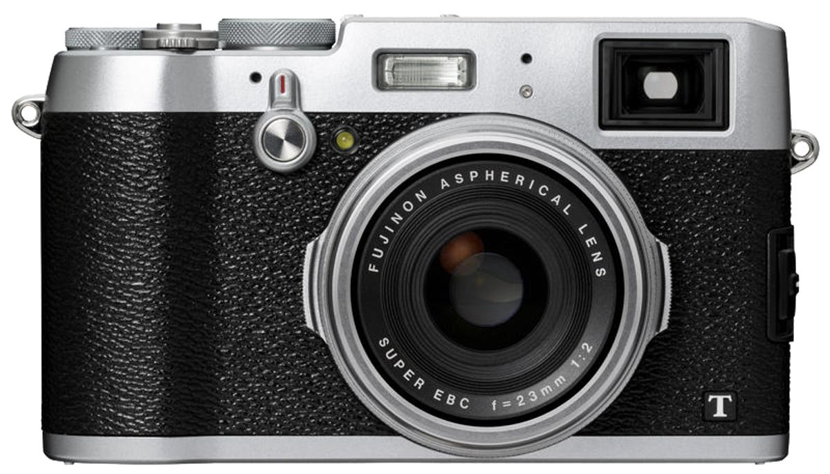 The Fujifilm X100T boasts the world's first electronic rangefinder