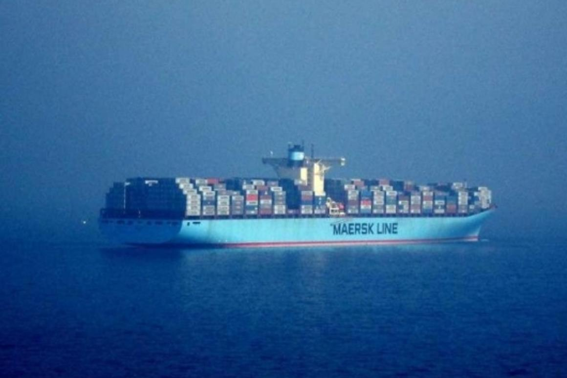Big polluters: one massive container ship equals 50 million cars