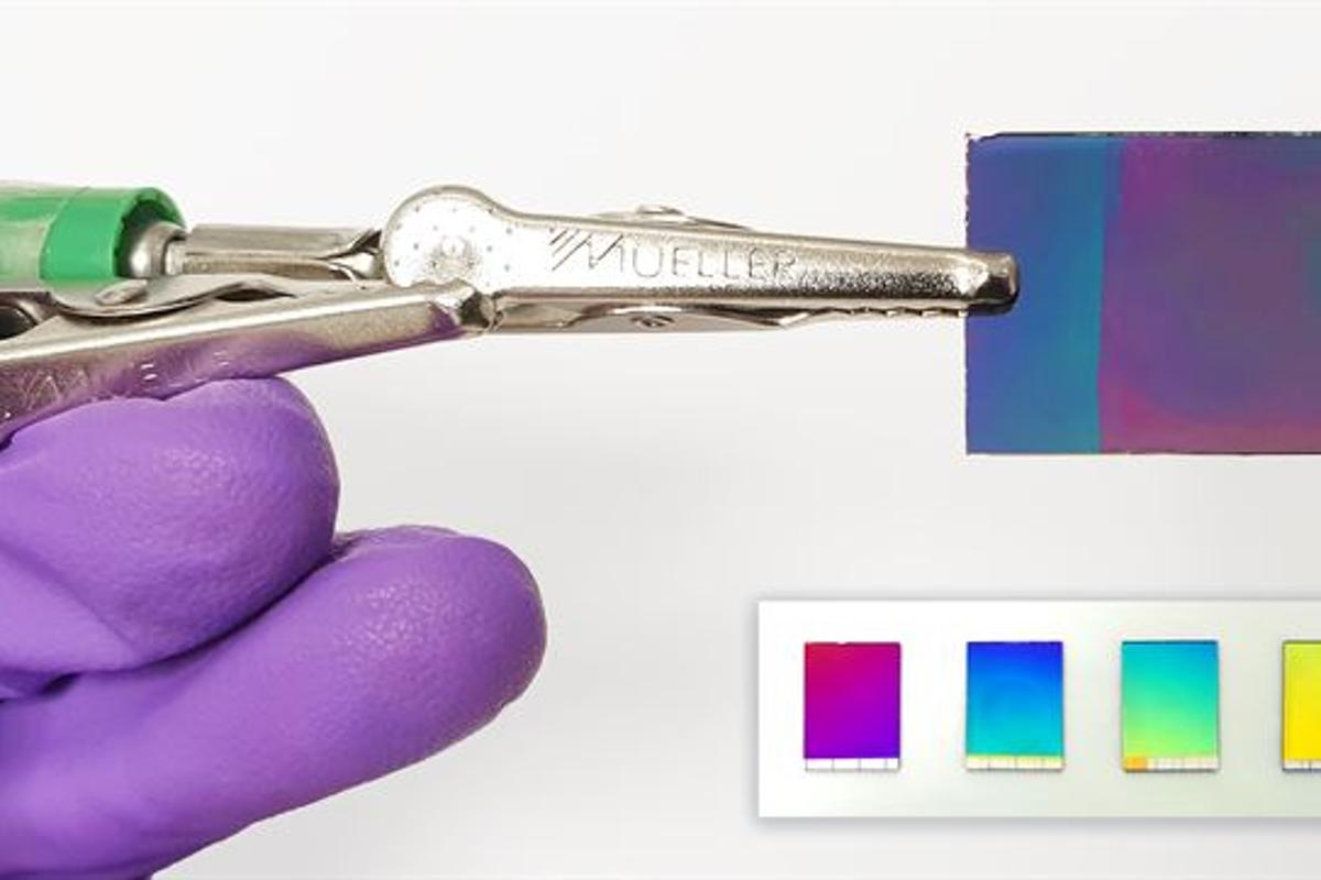 Scientists in Sweden have developed a new form of electronic paper with particularly brilliant colors