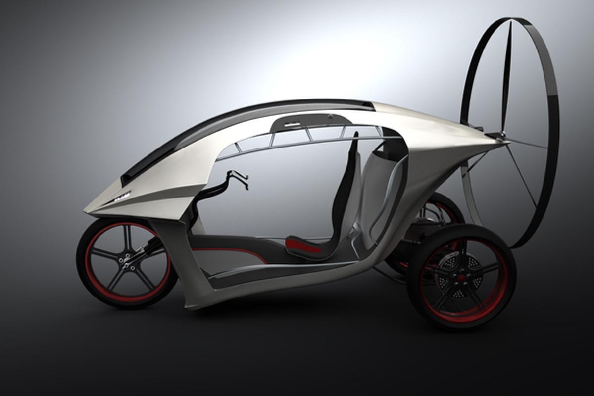The paragliding motor trike concept by Zvezdan Nedeljkovic