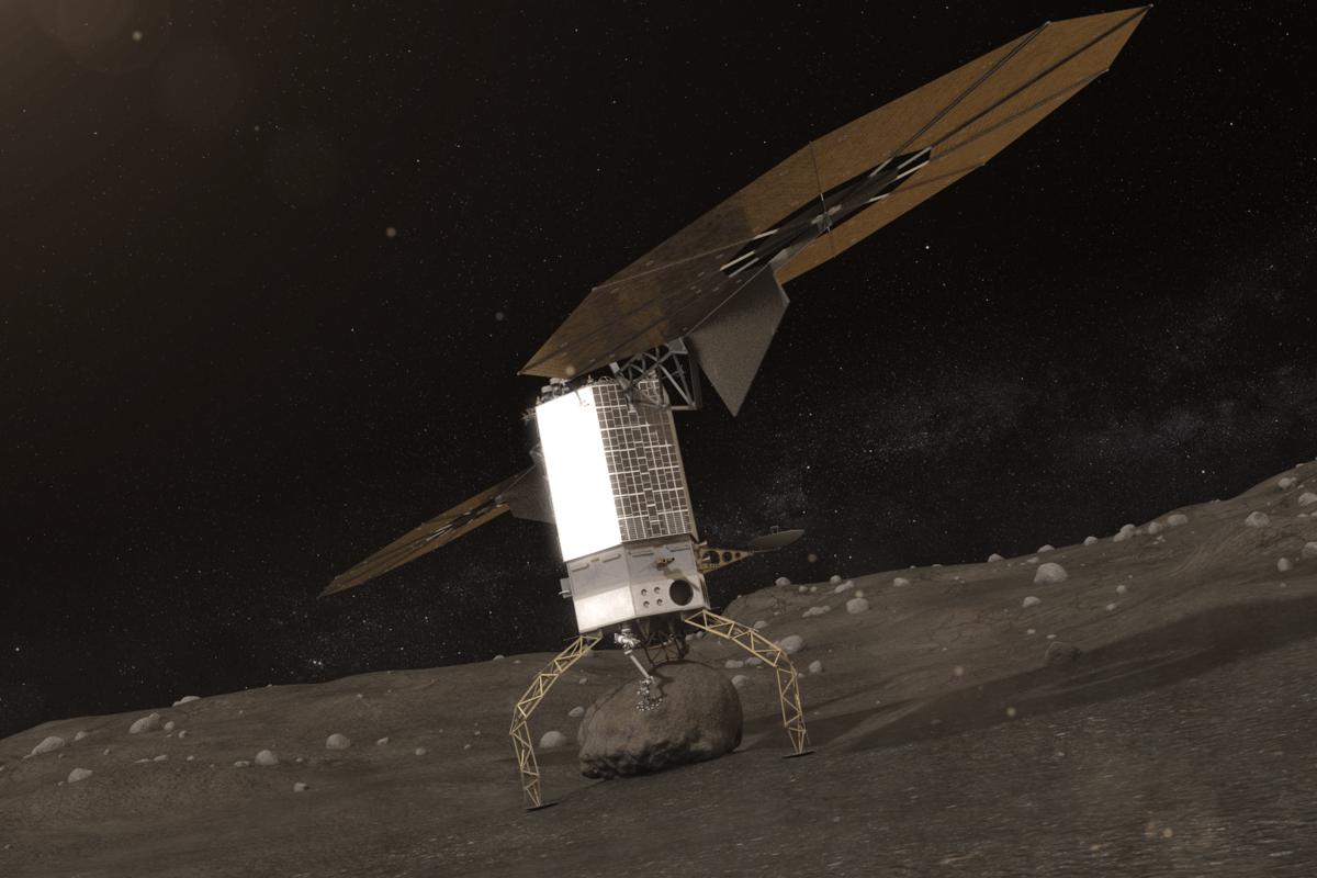 Asteroid Redirect Vehicle landing (Image: NASA)
