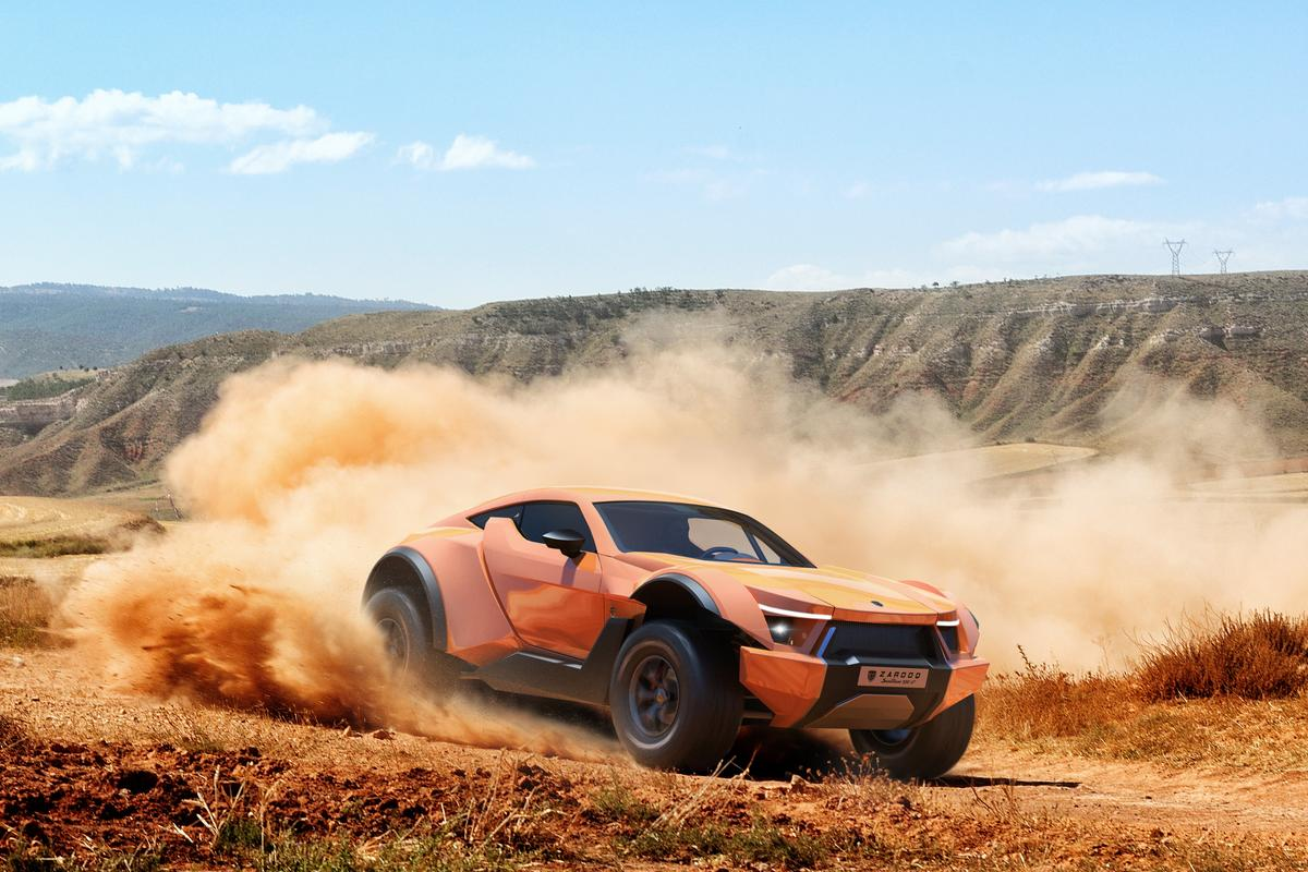 525 horses stampeding across the sand