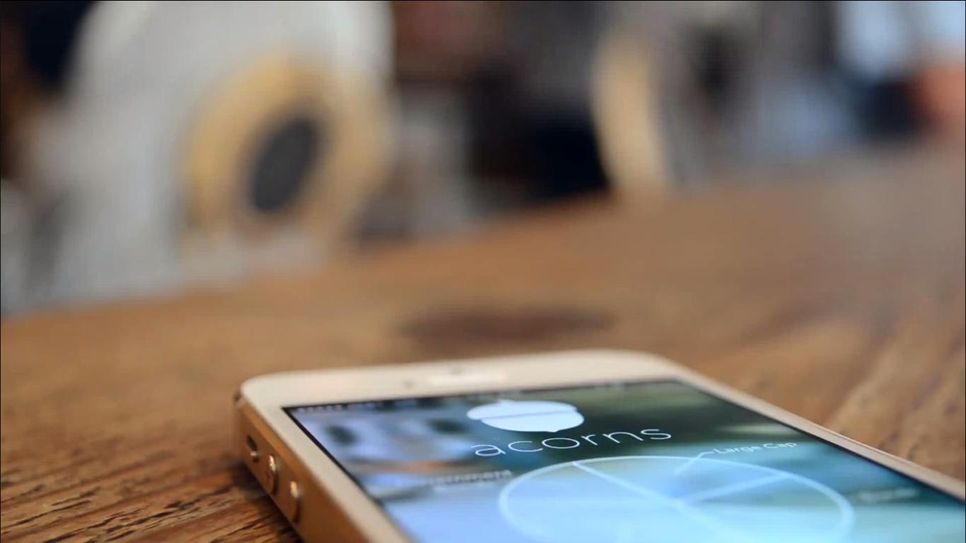 Acorns is a new app that allows users to make micro-investments from their smartphone