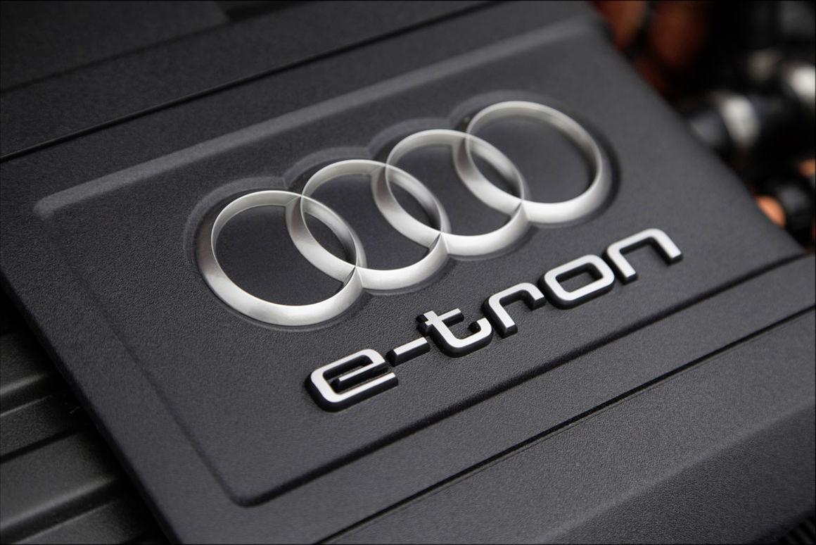 Audi A3 e-tron engine compartment