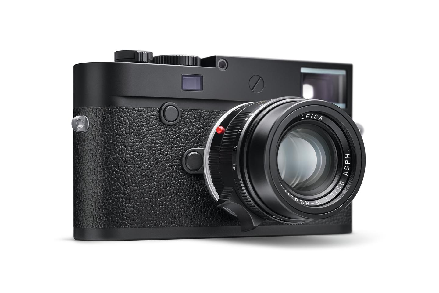 "Leica says that the M10 Monochrom ""is the epitome of discretion"""