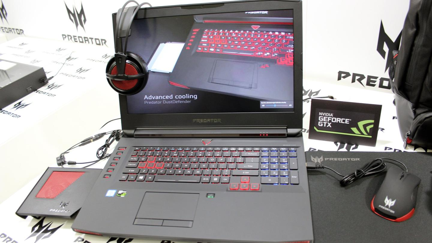 Acer unveils latest Predator gaming notebooks at IFA 2015 in Berlin, Germany