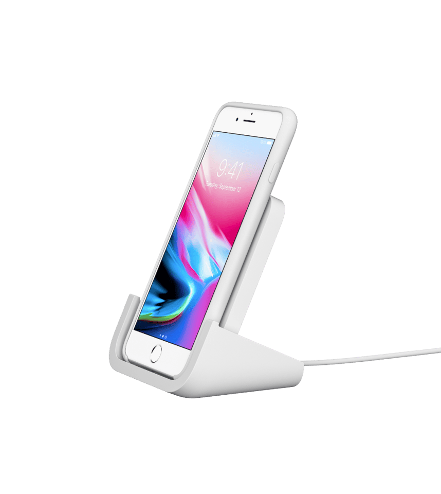 The Powered Wireless Charging Stand from Logitech has been designed in collaboration with Apple