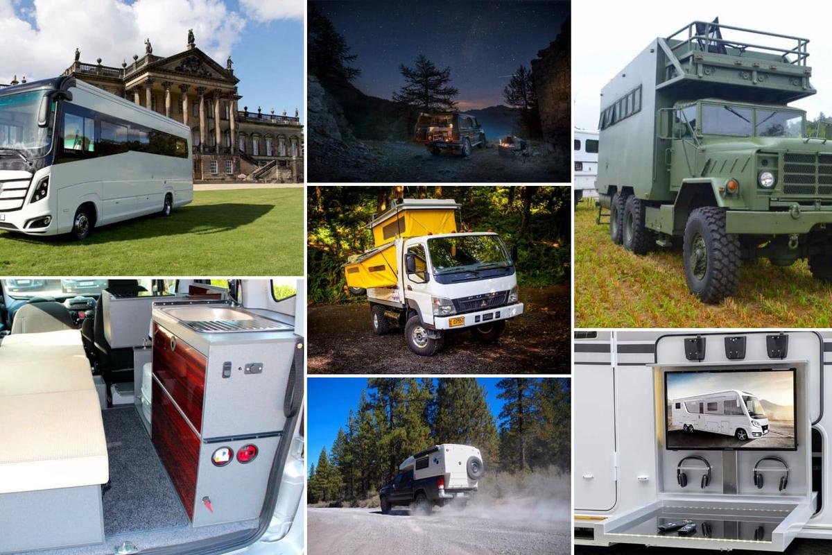 Motorhomes and camper gear of 2016